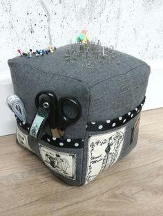 Mega Pin Cushion Pin Cushions, Sewing Ideas, Decorative Boxes, Decorative Storage Boxes