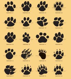 kids, and everybody. Paw print