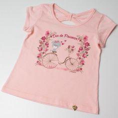 328 melhores imagens de Blusa Infantil Feminina  840305a5d37
