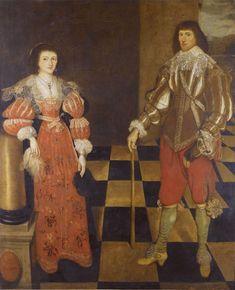 17th century gallants doublet over white shirt falling band collar breeches love locks