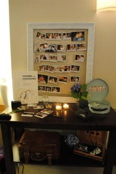 Wedding polaroid guest book..... I can just imagine some of the pics if I did this when my time comes :)