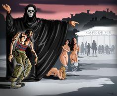 Sad World – The latest satirical illustrations by Gunduz Agayev | Ufunk.net