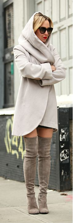 Incognito By Brooklyn Blonde.  Love the coat.