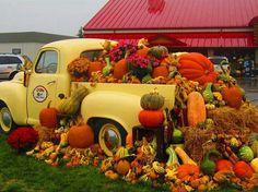 Fall Pumpkin Truck