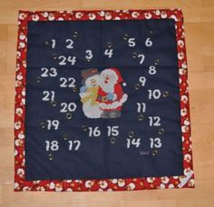 adventcalenders I have crossstitched and sewn for my children and my nephew Crossstitch, My Children, Sewing, Adult Children, Cross Stitch, Punto De Cruz, My Boys, Dressmaking, Couture