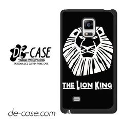 The Lion King Broadway Musical Brown DEAL-10843 Samsung Phonecase Cover For Samsung Galaxy Note Edge