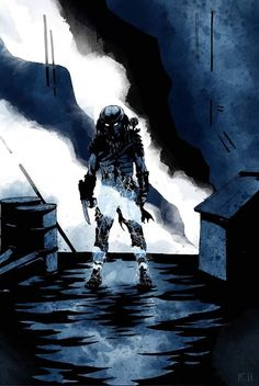Wolf Predator, Predator Movie, Alien Vs Predator, Alien Isolation, Alien Concept Art, Aliens Movie, Alien Races, Alien Creatures, Alien Art
