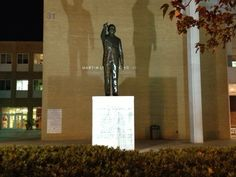 On the campus of Morehouse College, the Martin Luther King, Jr. Chapel