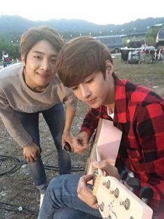 Yunsung and Hyunkyung