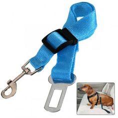 Adjustable Car Vehicle Pet Dog Seat Safe Belt Leash Belts