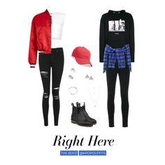 The Boyz Fashion Korean Fashion Kpop Inspired Outfits, Bts Inspired Outfits, Korean Street Fashion, Kpop Fashion Outfits, Korea Fashion, Stage Outfits, Korean Outfits, Dance Outfits, Tomboy Outfits