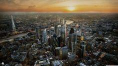Aerial London 4K shared by tktrannn via /r/wallpapers...