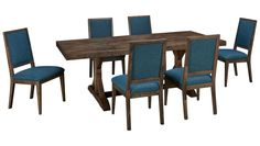 Canadel-Loft-Loft 7 Piece Dining Set - Jordan's Furniture