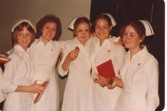 1979 R.N. Diploma grads from The Toledo Hospital School of Nursing.