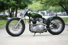 """""""Green Peace"""" AJS by Heiwa Motorcycles 