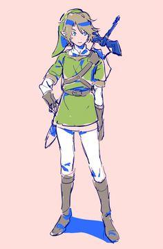 Link, by oekkkn