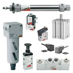 Pneumatic products are also used in sensitive wash down applications and with parts that are in direct contact with food.