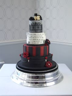 """Alternative"" Wedding Cake"