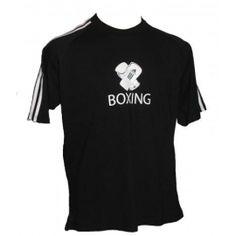 Box tričko ADIDAS krátky rukáv čierne