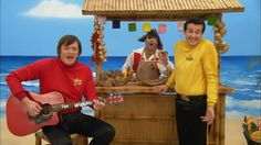 Murray Wiggle, Captain Feathersword and Sam Wiggle in a scene from Ukulele Baby! Wag The Dog, The Wiggles, Ukulele, Singing, Handsome, Husband, Scene, Entertaining, Trends