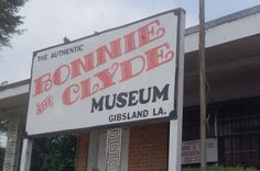 Bonnie and Clyde Museum in the Town that they left before their ambush by Paul Kalich PPA member Bonnie And Clyde Museum, Bonnie Clyde, Bonnie Parker, The Bonnie, Broken Leg, Summer Bucket Lists, Gangsters, Rv Travel, Road Trippin