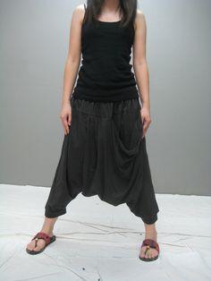 BAM ninja pant (black color). $35.00, via Etsy.