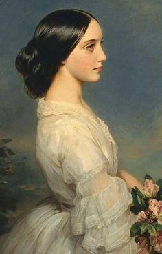 Franz Xaver Winterhalter (German, 1805-1873) Carmen, Duchess of Montmorency