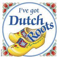 Dutch Gift Magnet Tile (Dutch Roots)