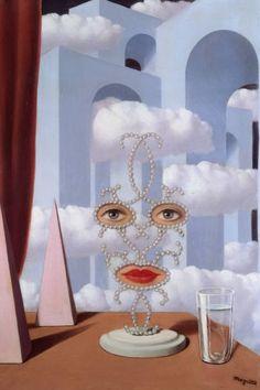Sheherazade Paintings - Rene Magritte , c.1947 s Belgian, 1898-1967