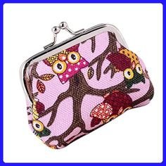 Rainbow Proud Sun Vintage Pouch Girl Kiss-lock Change Purse Wallets Buckle Leather Coin Purses Key Woman Printed