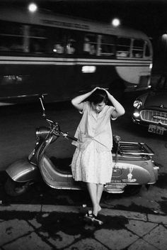 Shinjuku, Tokyo, 1958.