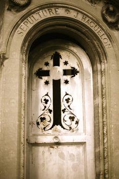 Beautiful Cross Doorway - through my lens