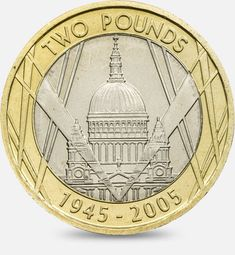 In Victory Magnanimity in Peace Goodwill - 2005 http://www.royalmint.com/discover/uk-coins/coin-design-and-specifications/two-pound-coin/2005-st-pauls-cathedral
