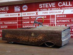 ≪No.0374≫  ・ニックネーム  Harry     ・メーカー名、車種、年式  IronBox     ・アピールポイント  ビンテージIronに大径アルミ偏平タイヤでここまで下げました、いい錆びしてますよ、ハンドルも作っちゃいました。