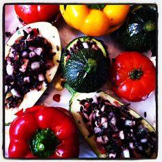 Lots of colourful veg planned for lunch today. - Rachel Khoo http://instagram.com/rachelkhooks