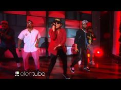 Mark Ronson Feat. Bruno Mars - Uptown Funk (Live Ellen Degeneres) - Love this man! GOD!
