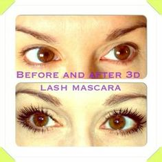 Our Awesome 100% natural 3D Mascara click to order yours!