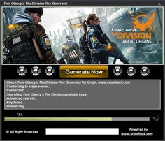 Tom Clancys The Division Key Generator 2016 download windows, iOS, apk. Full Tom…