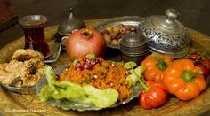 still life delicious oriental food. Confiserie Orientale Berlin