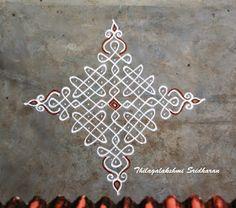 Flowers drawing simple geometric Ideas for 2020 Free Hand Rangoli Design, Small Rangoli Design, Rangoli Designs With Dots, Rangoli Designs Images, Rangoli With Dots, Beautiful Rangoli Designs, Simple Rangoli, Mehandi Designs, Rangoli Borders