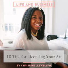 10 Tips for Licensing your Art, Design*Sponge
