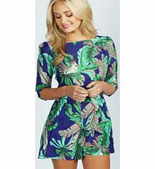 boohoo Yusra Tropical Parrot Print 3/4 Sleeve Playsuit Perfect for daytime shopping or evening partying, the playsuit will take you stylishly through AW. Mesh inserts and peplum frills are worked into this staple style saviour, and lace detailing and anim http://www.comparestoreprices.co.uk/womens-clothes/boohoo-yusra-tropical-parrot-print-3-4-sleeve-playsuit.asp