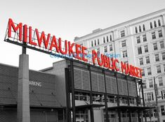 The Market. Milwaukee Public Market... just one of our favorite place. Print available!