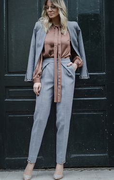 THE PERFECT GREY SUIT @fashionfforever