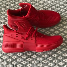 603d35c51afd ADIDAS D LILLARD 1 POWER RED BLACK S85765 US 149.00