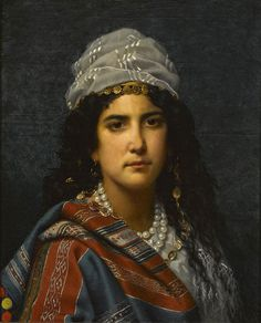 Jan Portielje (dutch,1829-1908)- The gipsy girl - by hauk sven, via Flickr