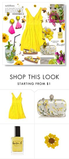 """""""Untitled #146"""" by wonderful-paradisaical ❤ liked on Polyvore featuring CHI, J.Crew, Alexander McQueen, Lauren B. Beauty, Dolce&Gabbana, contest and 1st"""