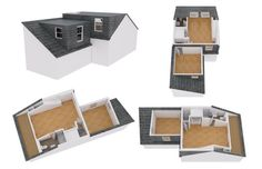 3D Loft Conversions Plans in Brighton, Hove, Shoreham, Worthing and Sussex - Amazing Space Loft Conversions Ltd