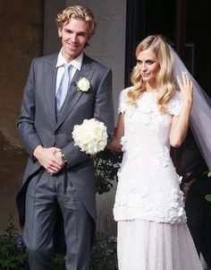 @Who What Wear - Swoon! Poppy Delevingne's Chanel Wedding Gown Is Every Girl's Dream