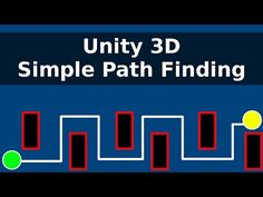 Unity 3D : Simple Path Finding - YouTube